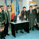 Vizita de lucru a Preşedintelui CCI dl. V. Lazăr