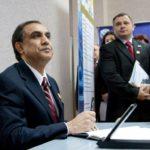 Înscrierea în Cartea de Onoare de către Ambasadorul SUA în Moldova Excelenţa sa dl. Asif Chaudhry