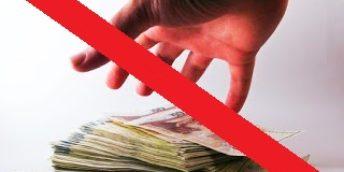 Nu vrem corupţie…