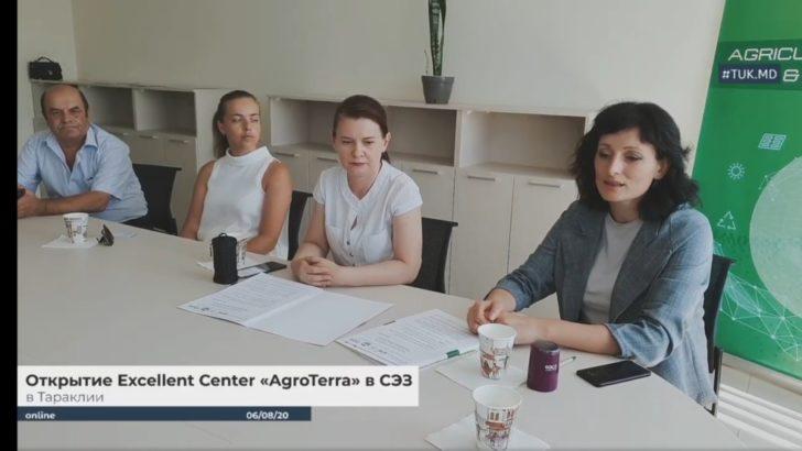 """Deschiderea Centrului Excellent """"AgroTerra"""" la Taraclia"""